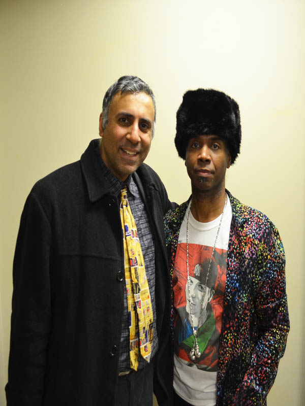 Dr.Abbey with Haute Couture Designer Andre Galliano