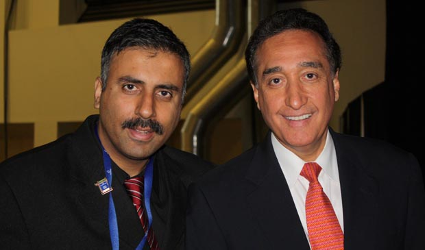 Dr.Abbey with Henry Cisneros Former Hud Secretary