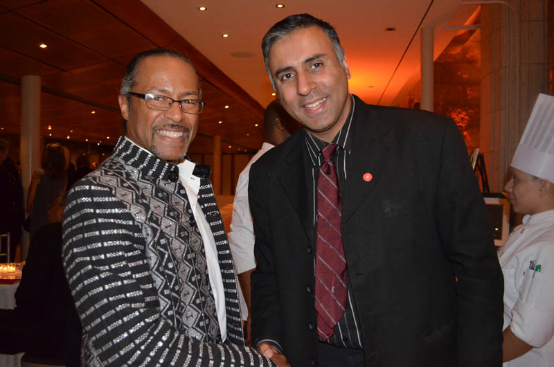 Dr.Abbey with Howard kamau Stanford,BCA Chairman