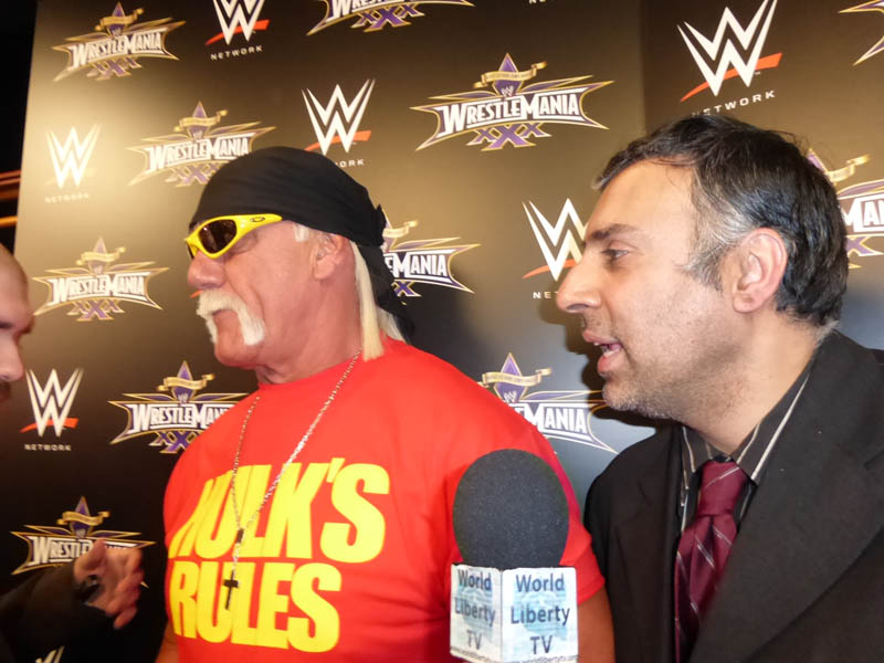 Dr.Abbey with Hulk Hogan