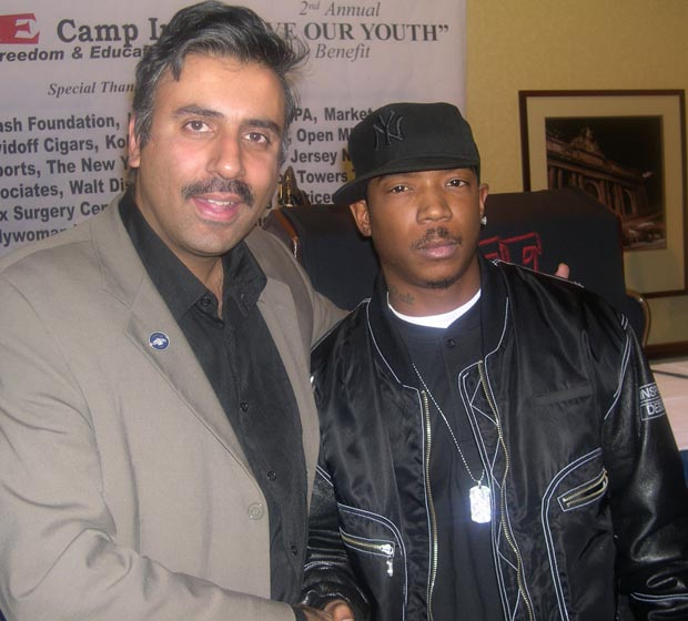 Dr.Abbey with Ja Rule Rapper