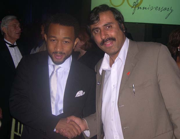 Dr.Abbey with John Legend