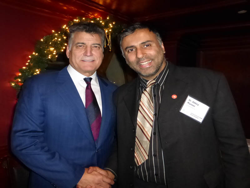 Dr.Abbey with Keith Hernandez Former Mets Player