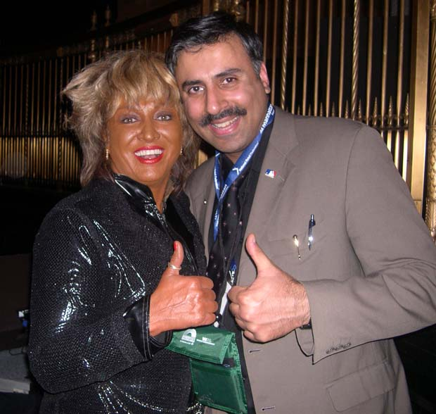 Dr.Abbey with Legendary Tina Turner