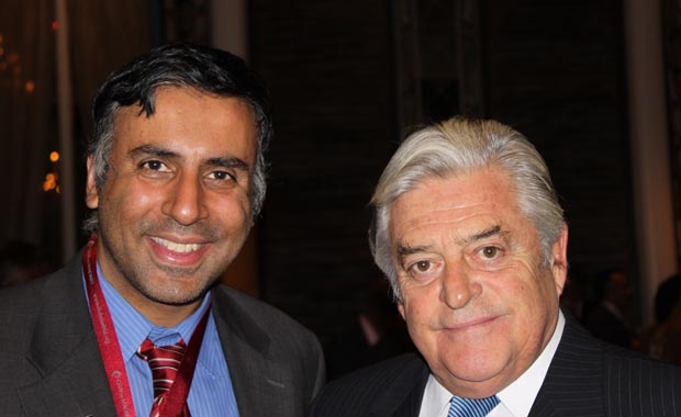 Dr.Abbey with Luis Alberto Lacalle Former President of Uruguay