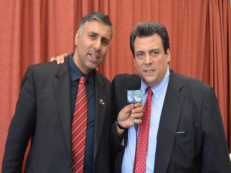 Dr.Abbey with Mauricio Sulaiman President WBC