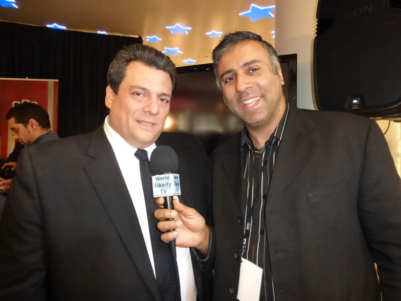 Dr.Abbey with Mauricio Sulaiman, WBC Boxing President