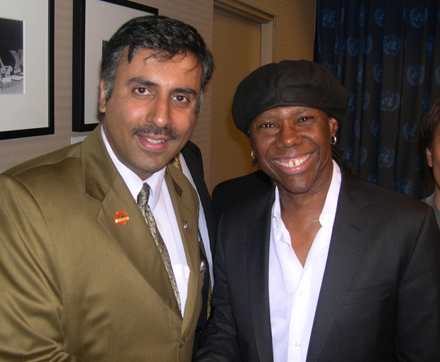 Dr.Abbey with Multiple Grammy Award Winner Nile Rogers