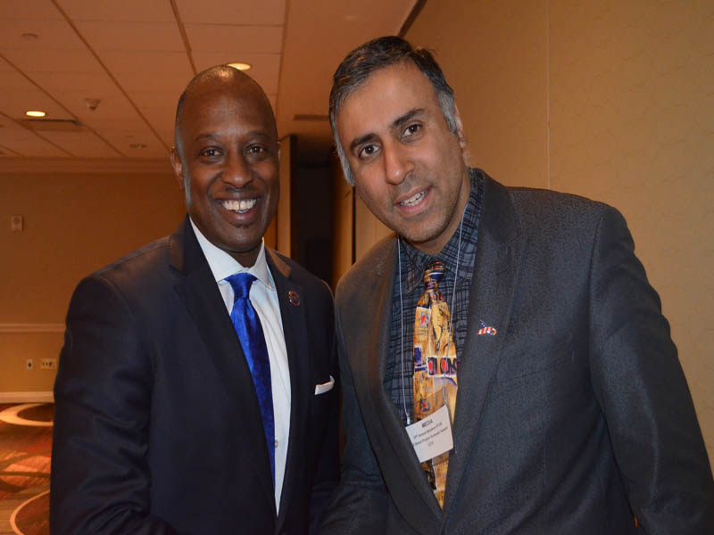 Dr.Abbey with Ron Busby Sr,President US Black Chambers Inc