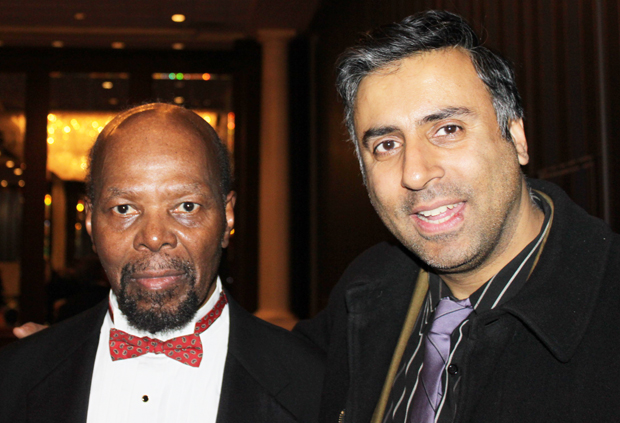 Dr.Abbey with Roy Innis ,Chairman of CORE