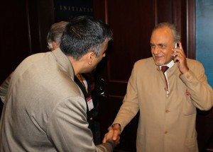 Dr. Abbey with Saudi Arabia Prince Turki Al Faisal