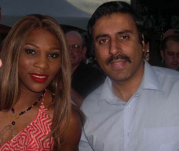 Dr.Abbey with Serena Williams Tennis Great