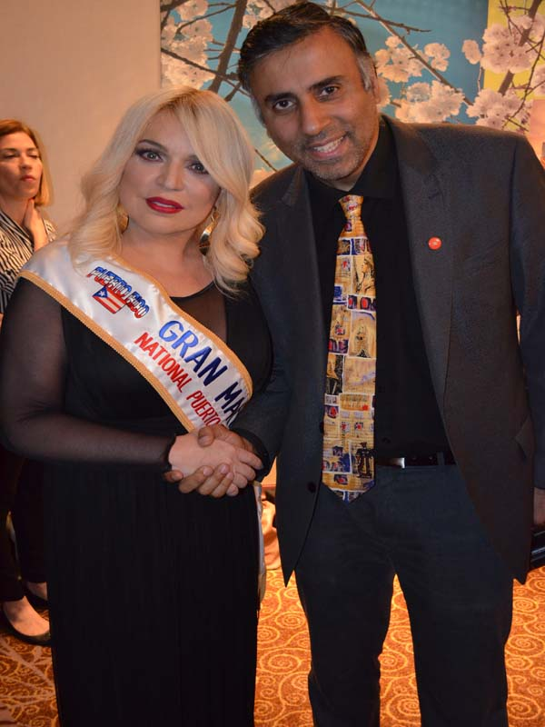 Dr.Abbey with Singer and Song Writer Ednita Nazario