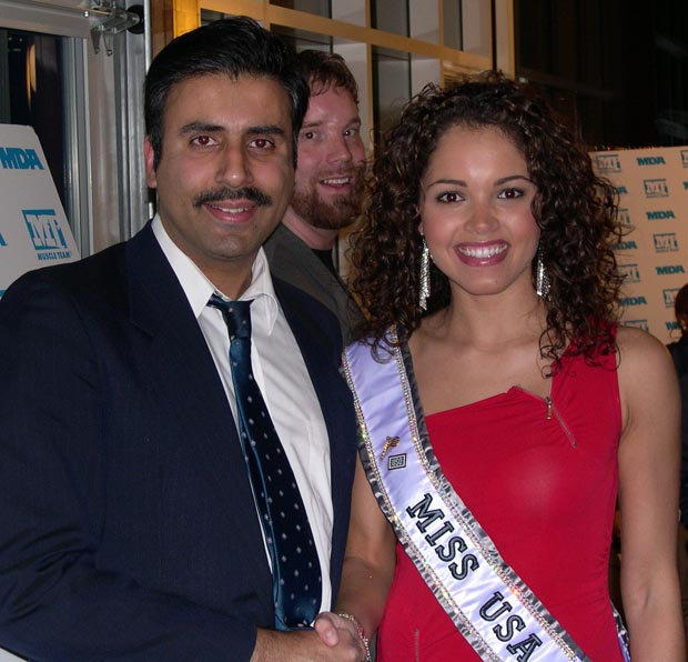 Dr.Abbey with Susie Castillo Miss USA 2003