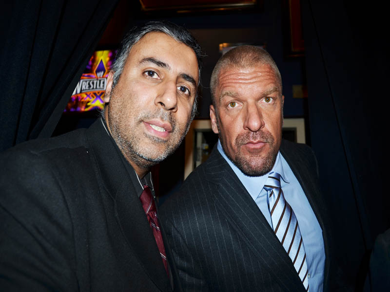 Dr.Abbey with Triple H