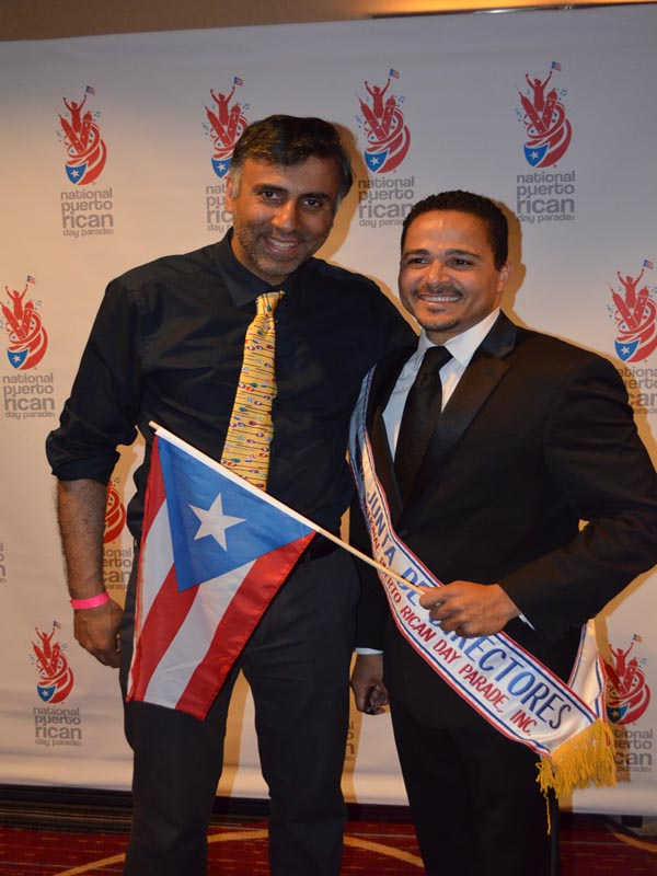 Dr.Abbey with Ululy Rafael Martinez Vice Chair of PR Parade