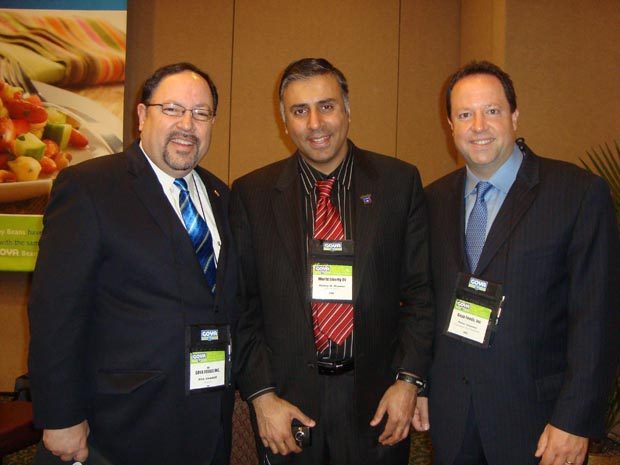 Dr.Abbey with Unanue Brothers of Goya Foods 2011