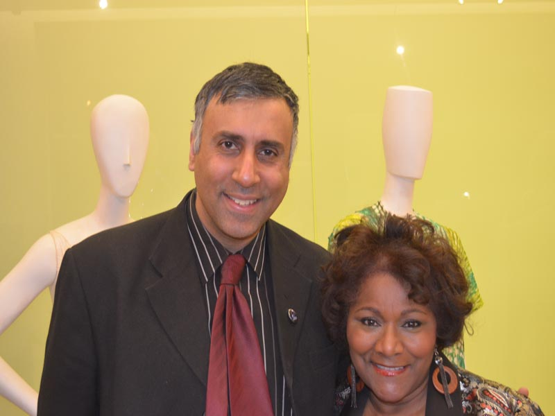Dr.Abbey with Veera Moore  of VM Cosmetics