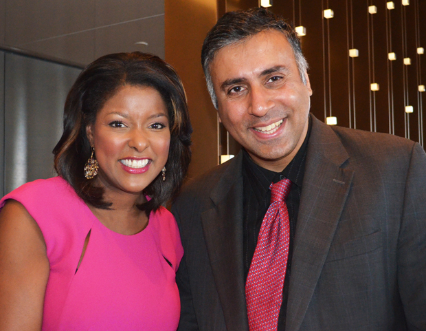Dr.Abbey with WABC-TV Eyewitness News reporter Lori Stokes