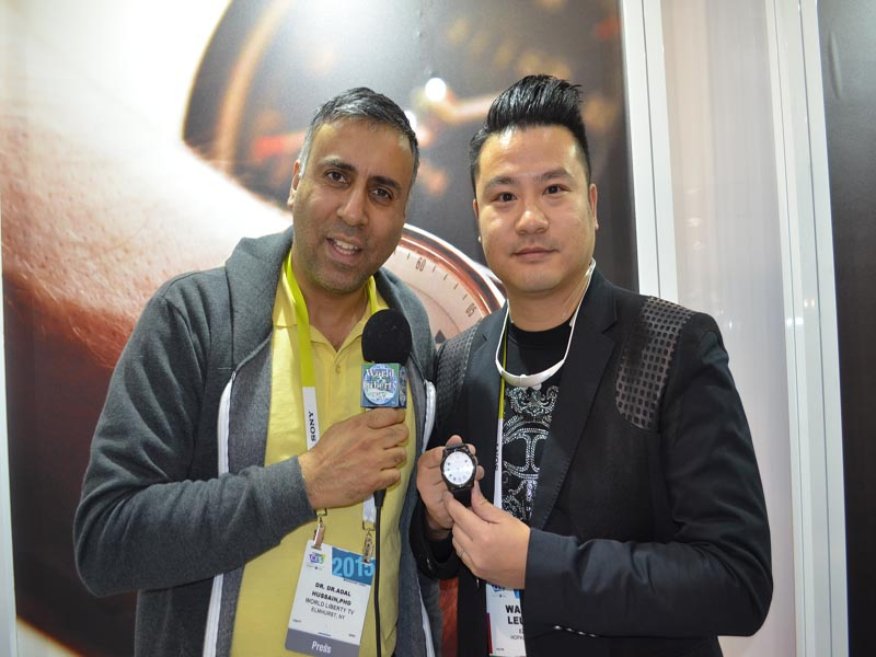 Dr.Abbey with Wayne Leung CEO EZIO