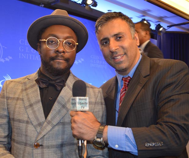 Dr.Abbey with Will iam from Black Eyed Peas