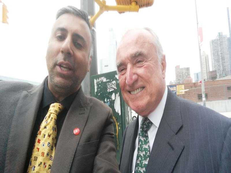 Dr.Abbey with William Bratton Former NYPD Comissioner