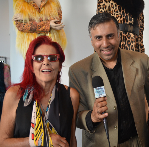 Dr.Abbey with World Renowned Stylist Patricia Fields