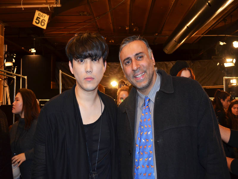 Dr.Abbey with Yohan Kim Designer For YOHANIX