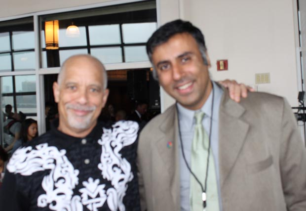Dr.Abbey with singer-composer Dan Hill