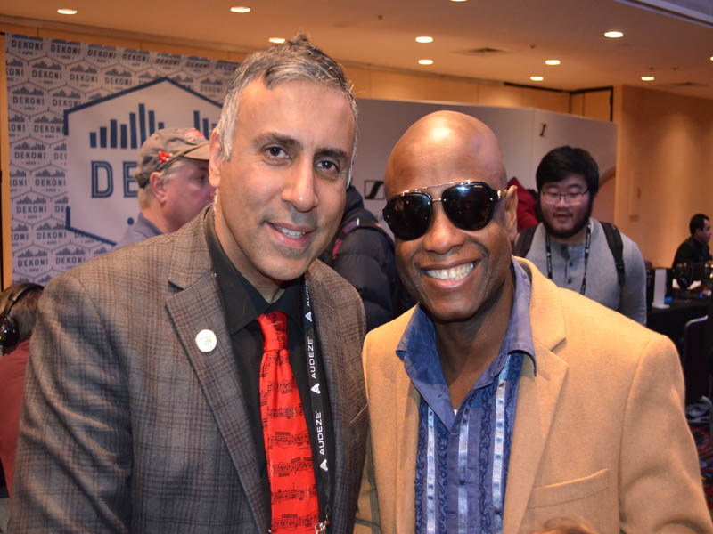 Dr.Abbey with world renowned music producer Jerry Wonda