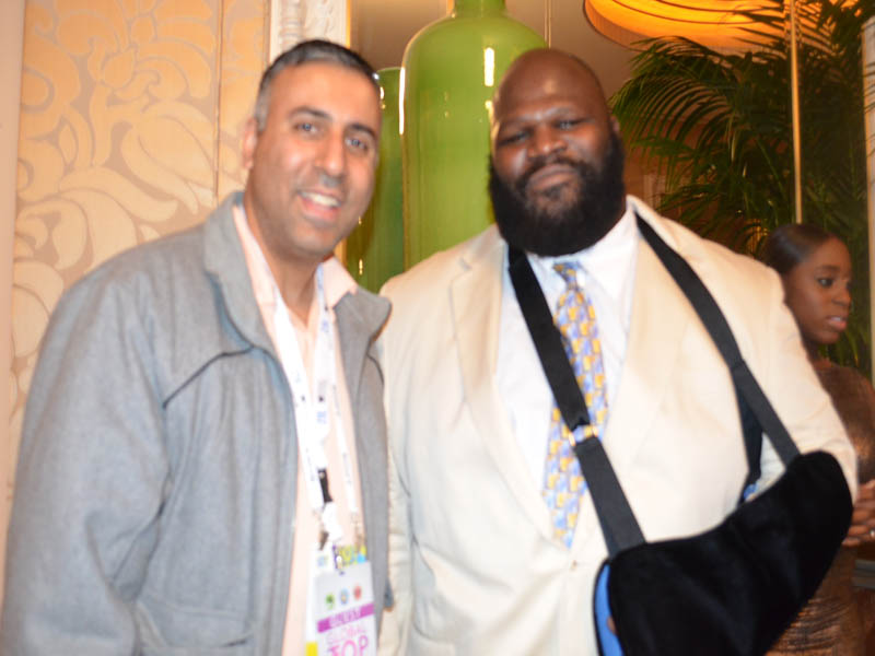 WWE Wrestler Mark Henry with Dr.Abbey
