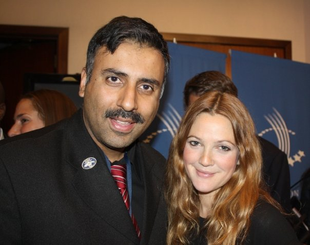 Dr.Abbey with Actress Drew Barrymore