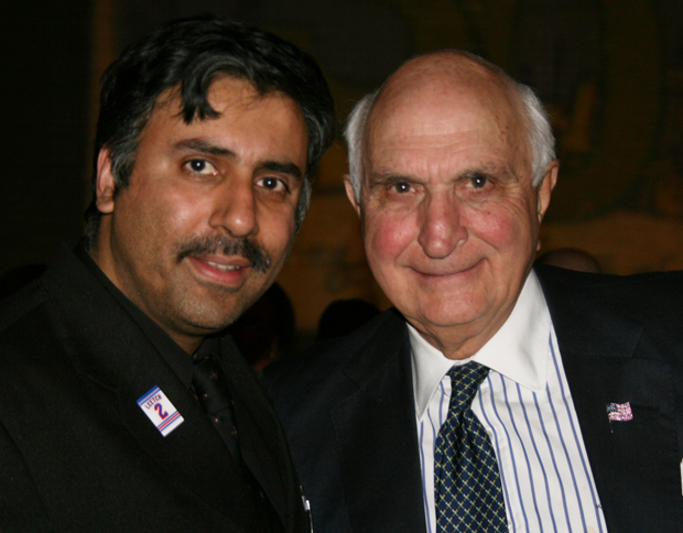 Dr.Abbey with Billionaire Ken  G. Langone Former Chairman of Home Depot