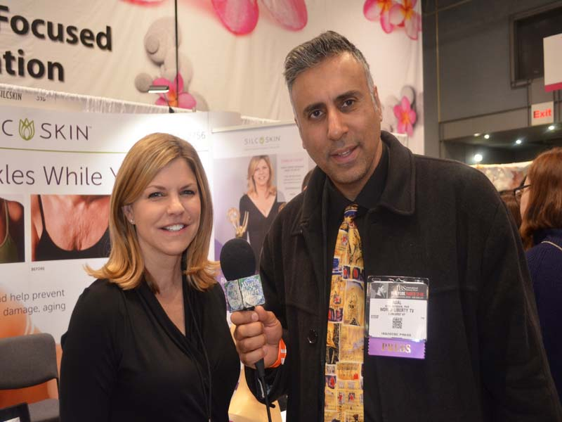 Dr.Abbey with Camille Calvet 2 Time Emmy award Winner & CEO SILC SKIN