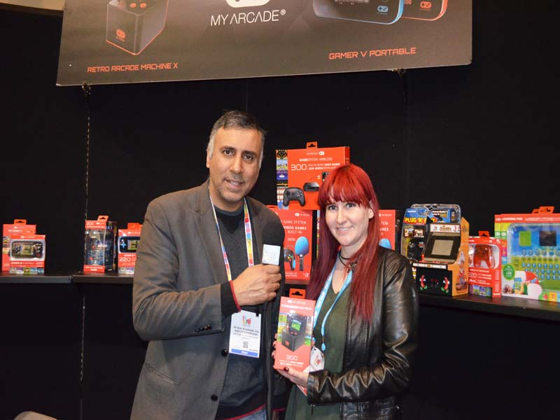 Dr.Abbey with Crystal Dugan of Dreamgear