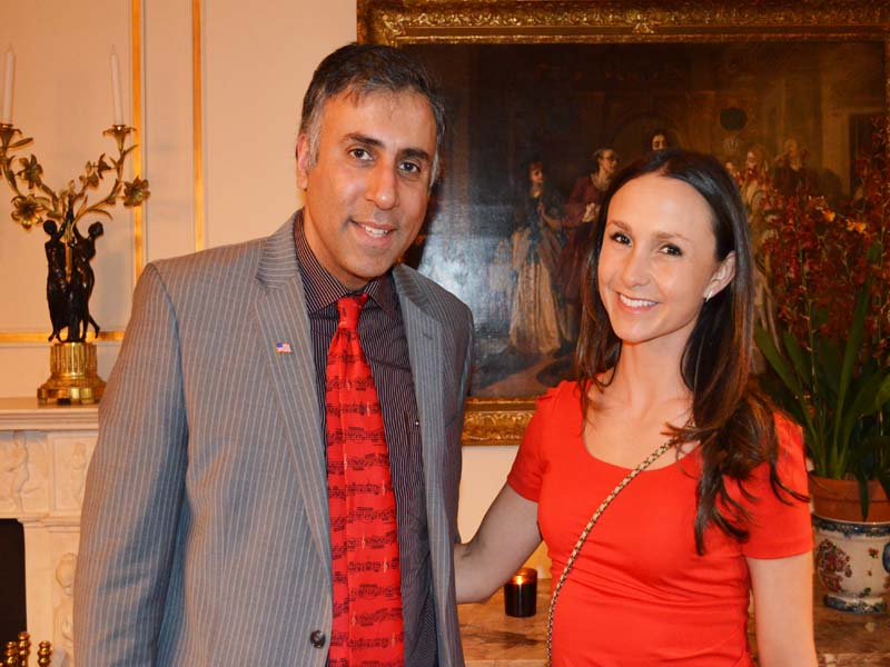 Dr.Abbey with Georgina Bloomberg