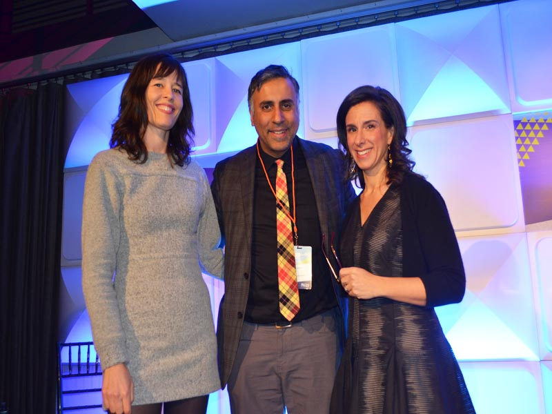 Dr.Abbey with Jodi Kantor & Megan Twohey from Breaking the Harvey Weinstein Story