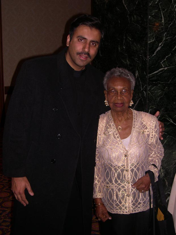 Dr.Abbey with   Muriel Petioni, Founder Friends of Harlem Hospital