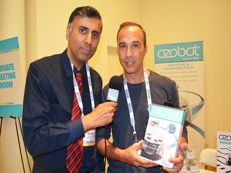 Dr.Abbey with Nader Hamada CEO Azobot