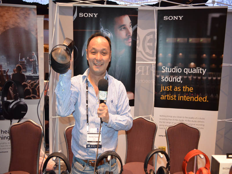 Noataka Tsunoda of Sony Headphones