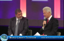 Historical Talk with President Clinton and Mohammed Morsi, President of Egypt at the CGI 2012