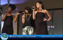 Sister Act Cast Doing a Live Performance at The Made in NY Awards at Gracie Mansion, NY – 2012