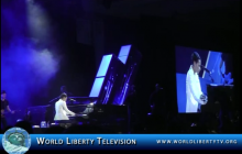 Alicia Keys' Live Performance of Her Song 'Karma' at The Monster Concert in Las Vegas – 2013