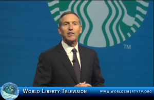 Howard Schultz, Chairman President and CEO, of Starbucks Speech at the 102nd NRF Conference 2013