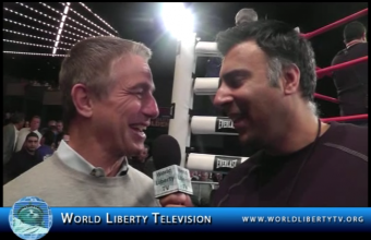 Interview with Actor Tony Danza at Madison Square Garden – New York, 2012