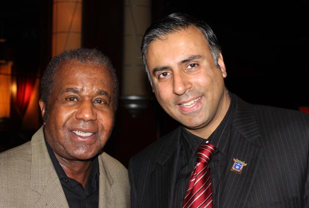 Dr.Abbey with Emanuel Steward Greatest Boxing Trainer of all time