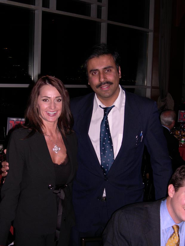Dr.Abbey with  Nadia  Comaneci Gymnast