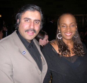 Dr.Abbey with Susan L Taylor of Essence Magazine