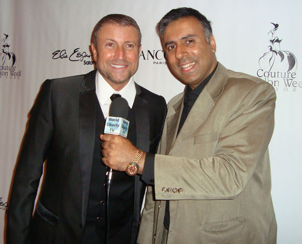 Dr.Abbey with World Renowned Designer Catalin Botezatu from Romania.