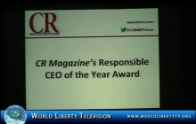 The Corporate Responsibility Magazine (CR) Awards Dinner 2013